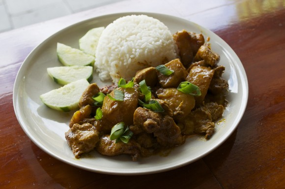 Papa Wok-Chicken Curry
