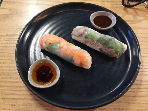 Rolld-Rice paper rolls